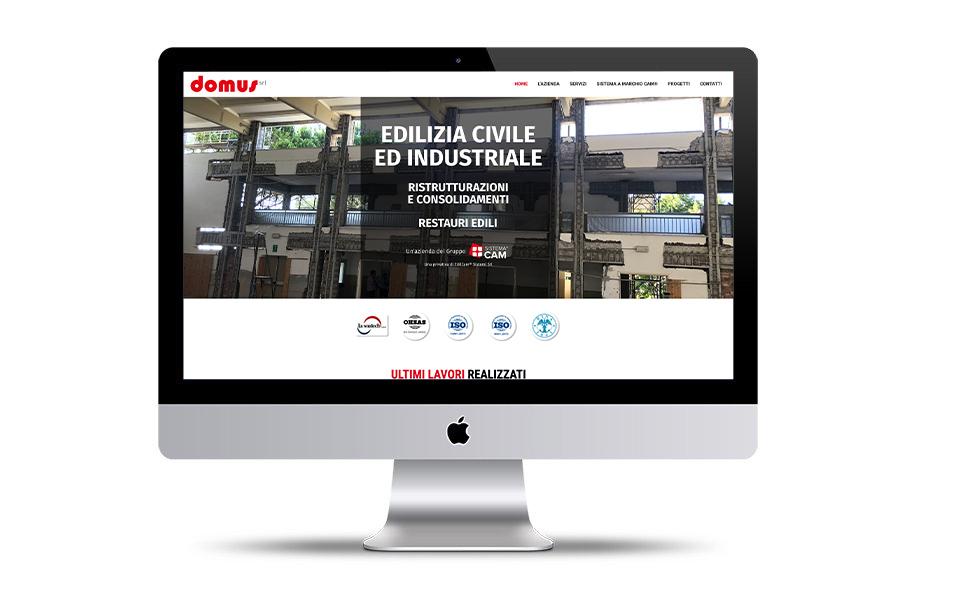 domus costruzioni fabriano contatto design - Web solutions