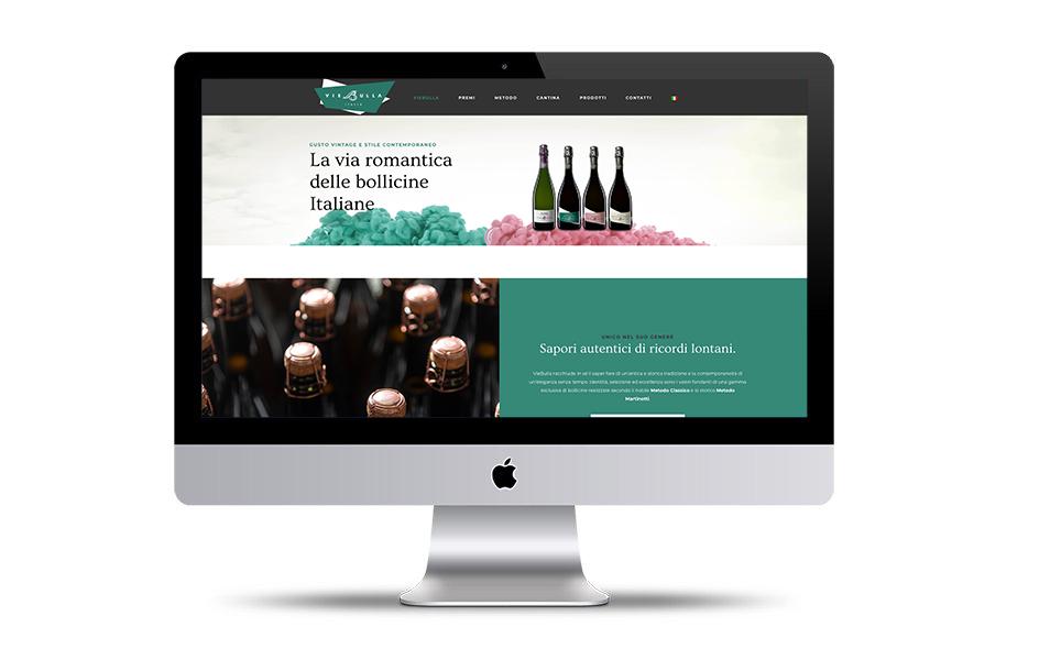 spumante viebulla sito web contatto design - Web solutions