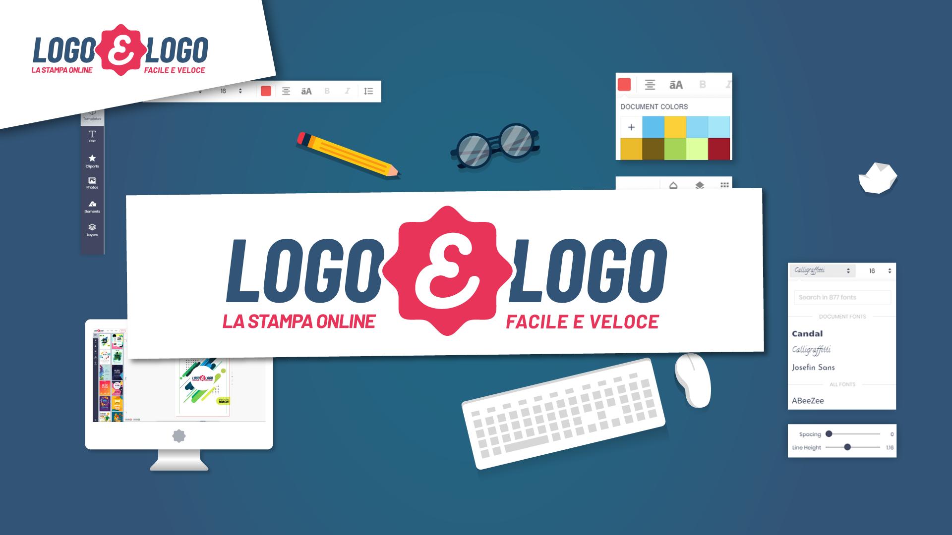 Banner per il video di Logoelogo – La stampa online facile e veloce