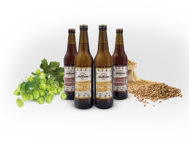 Etichetta birra Altoverso